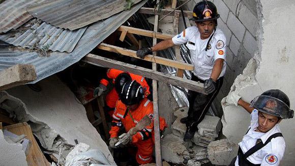 125 viviendas fueron dañadas. Foto: Reuters