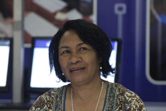 Dra. Miriam Nicado García, rectora de la UCI