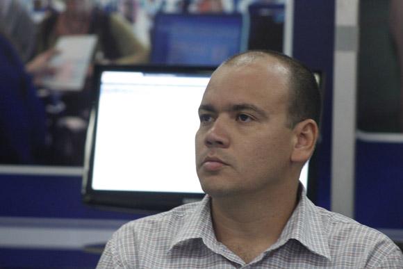 Reynaldo Rosado Roselló, vicerrector de Producción de la UCI. Foto: José Raúl Concepción/Cubadebate