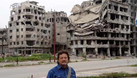 Homs, después de la batalla contra el terrorismo. (Foto: Cortesía del autor.)