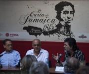 Presentan en la Casa Museo Simón Bolívar, La piel del lagarto, de Jorge Rodríguez Gómez. Foto: Ismael Francisco / Cubadebate