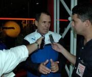 Acebal se mostró feliz por la victoria colectiva, pero lamentó las injusticias arbitrales. Foto: César A. Rodríguez.
