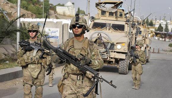 Afganistán, ejército EEUU