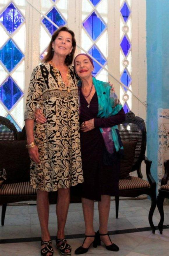 Alicia Alonso y Carolina de Mónaco. Foto: Nancy Reyes.