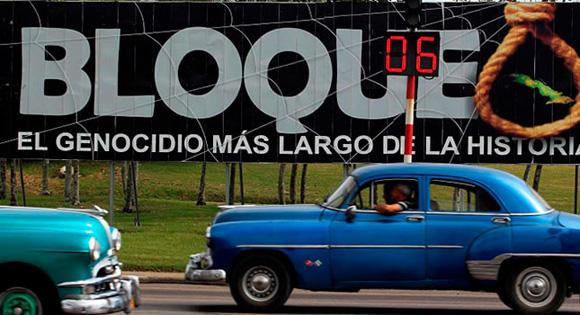 Bloqueo estadounidense contra Cuba se reforzó en 2015
