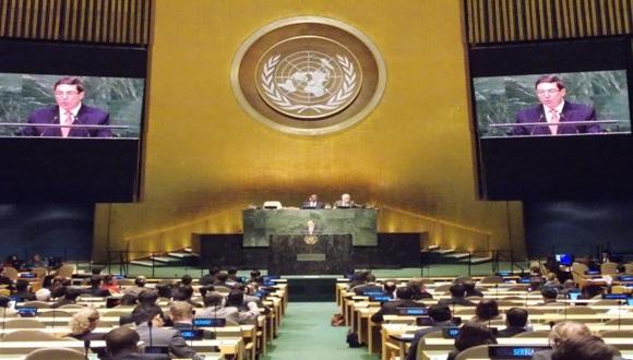 Canciller cubano presenta proyecto de Resolución contra el bloqueo de EE.UU. (+ Audio)