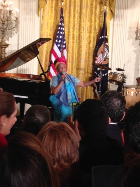 Buena Vista Social Club actuó en la Casa Blanca