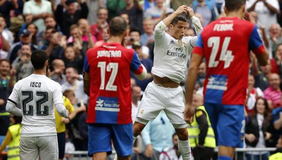 Cristiano Ronaldo marcó un gol y regaló una asistencia. Foto: AFP