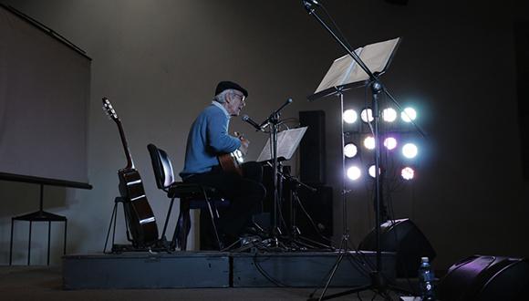 Daniel Viglietti. Foto: Carla Valdés