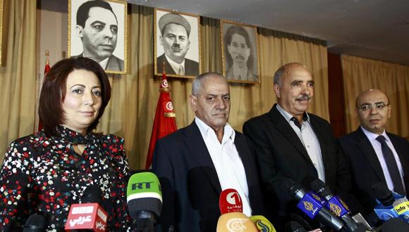 Cuarteto de Diálogo Nacional Tunecino.Foto:Reuters (Tomada de http://www.lanacion.com.ar/)