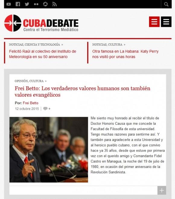 Cubadebate para móviles