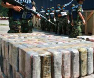Destruyen 946 kg de cocaína en El Salvador. Foto tomada de Ceontrapunto