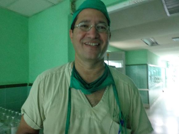 Doctor Abel García. Foto tomadas de Facebook.