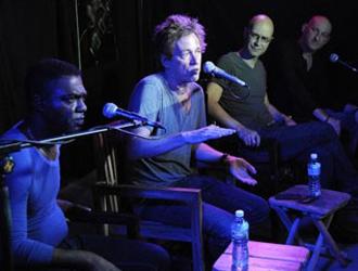 Dominic Miller, guitarrista de Sting junto a Manolito Simonet. Foto: (AIN)