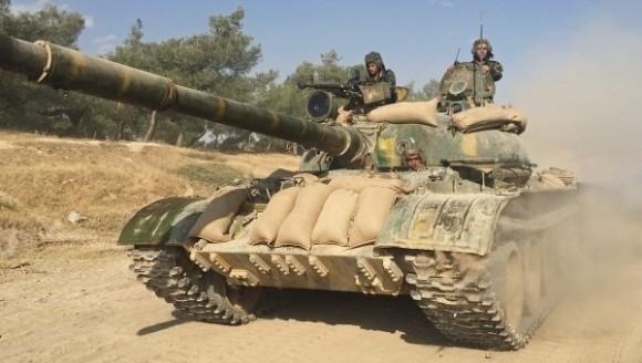Las tropas del Ejército sirio han logrado entrar en zonas que estaban controladas por terroristas. Foto: Tomada de TeleSur