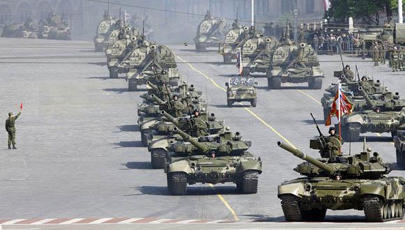 Desfile del Ejército Ruso. Foto: Reuters/Denis Sinyakov.