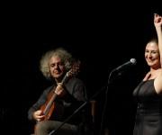 Mollica y Greco interpretaron hasta 15 canciones. Foto: José Raúl Concepción/Cubadebate
