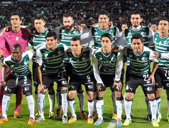El equipo del Club Santos Laguna de México. (Foto: Archivo.)