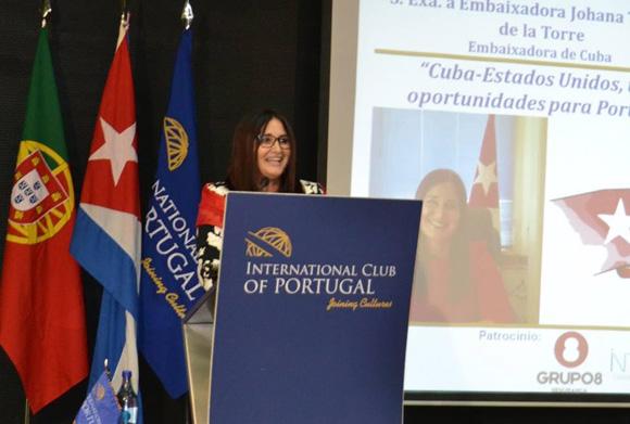 Foto: Cortesía de la Embajada de Cuba en Portugal.