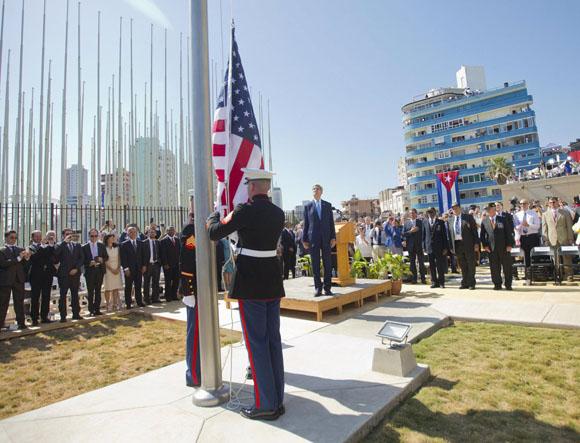 Embajada de Estados Unidos en Cuba. Foto Reuters