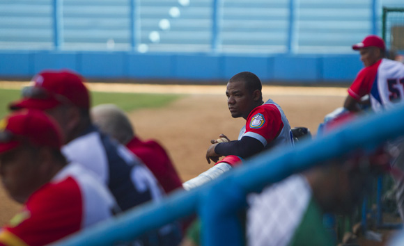 Entrenamiento del equipo Cuba al Premier 12 (10)