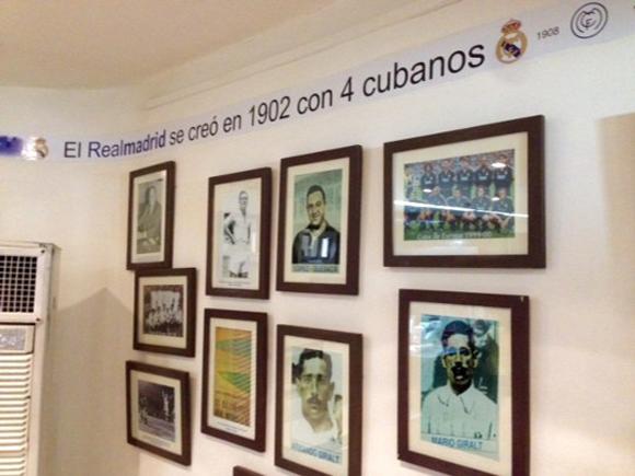 Cubanos en el Real Madrid.