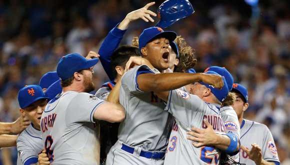 Mets de Nueva York vencieron a Dodgers de Los Ángeles. Foto: Getty Images