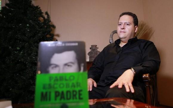 Hijo de Pablo Escobar. Foto: Tiempo.
