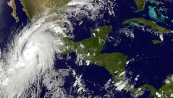 Huracán Patricia alcanza categoría cinco. (Foto: CNH.)