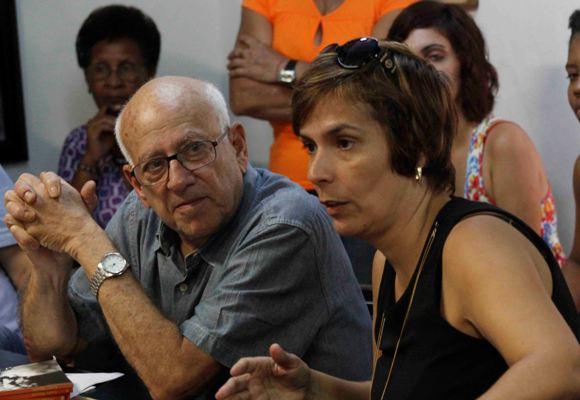 Isabel y Gilbert Brownstone. Foto: José Raúl Concepción/Cubadebate