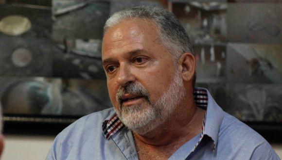 José Manuel Noceda, curador de la exposición. Foto: José Raúl Concepción/Cubadebate