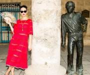 Katy Perry en Cuba La Habana Vieja. Foto: Cuenta de Instagram de la cantante
