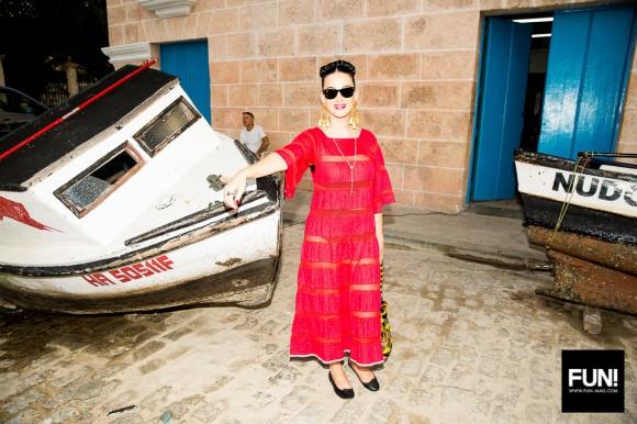 Katy Perry en La Habana Vieja. Foto: Cuenta de Instagram de la cantante