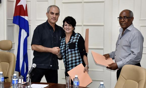 Firman importantes acuerdos entre el Instituto Cubano de la Música y la productora Bart Entertainment Ltd.