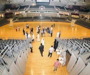 La Ali Bin Hamad Al Attiya Arena-Al Sadd. Foto JIT