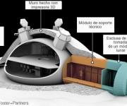 La idea es poder llegar a establecer una base lunar de forma permanente. Foto: ESA
