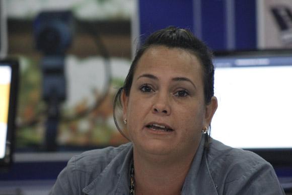 Dra. Yaimí Trujillo Casañola, directora de Calidad de Software en la UCI. Foto: José Raúl Concepción/Cubadebate