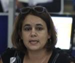 Dra. Ailyn Febles Estrada, vicerrectora de Investigación y Postgrado de la UCI y presidenta del Comité Organizador de la Unión de informáticos de Cuba. Foto: José Raúl Concepción/Cubadebate