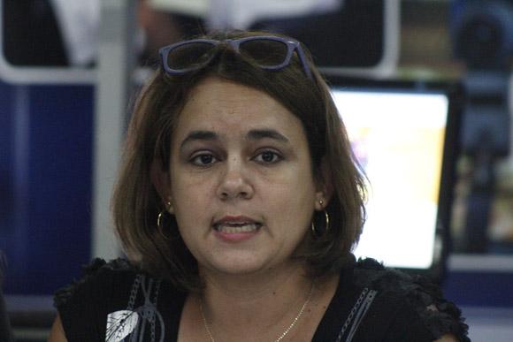 Dra. Aylin Febles Estrada, vicerrectora de Investigación y Postgrado de la UCI. Foto: José Raúl Concepción/Cubadebate