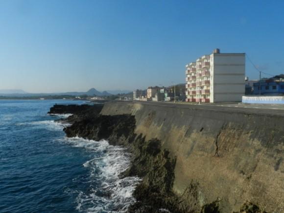 Malecón de Baracoa. Foto:  Amaury Daissón Gámez / Cubadebate