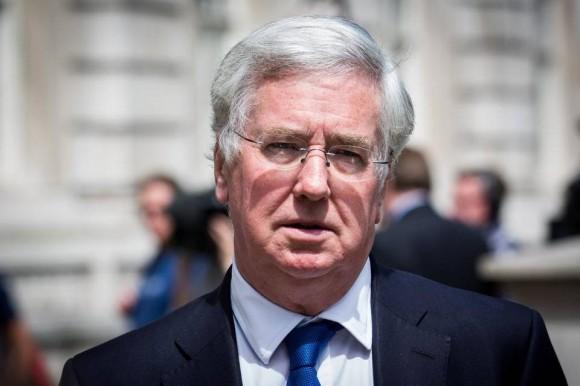 El ministro de Defensa del Reino Unido, Michael Fallon durante un acto a finales de junio en Londres. Foto: Rob Stothard / Getty Images.