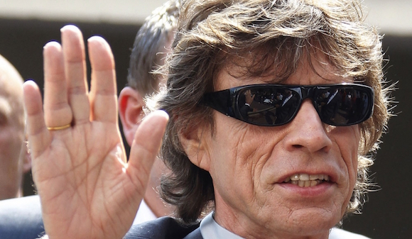 Mick Jagger está en La Habana.