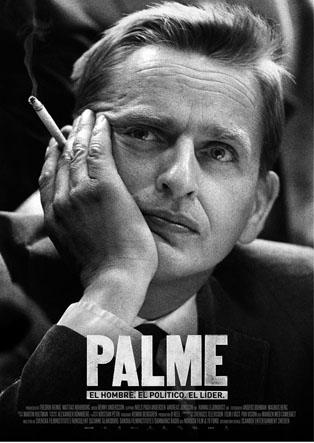Cartel del documental Palme, que se proyectará en el Chaplin.