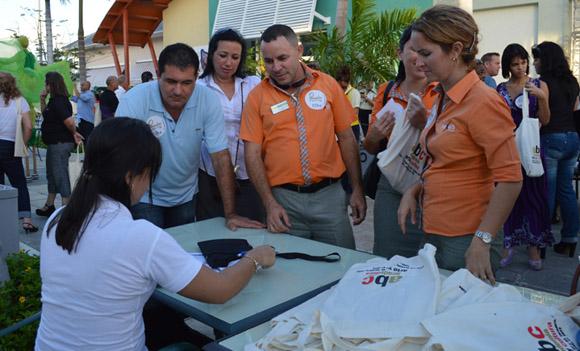 Encuentro de Paradiso, Agencia de Turismo Cultural de ARTex con   tour operadores en Hotel Las Morlas en Varadero.  Foto: Marianela Dufflar/ Cubadebate.