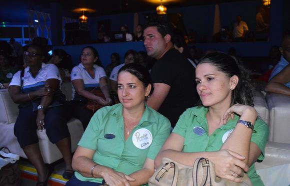 Los proyectos culturales  presentados, despertaron interés en los tour operadores. Foto: Marianela Dufflar/ Cubadebate.