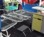 Parte del mobiliario producido por el ICEM. (Foto: Agustín Borrego)