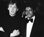 Paul McCartney y Michael Jackson