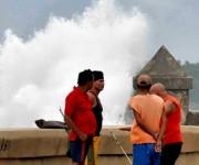 Penetraciones del mar en el Malecón de La Habana