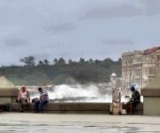 Penetraciones del mar en el Malecón de La Habana1