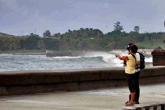 Penetraciones del mar en el Malecón de La Habana5